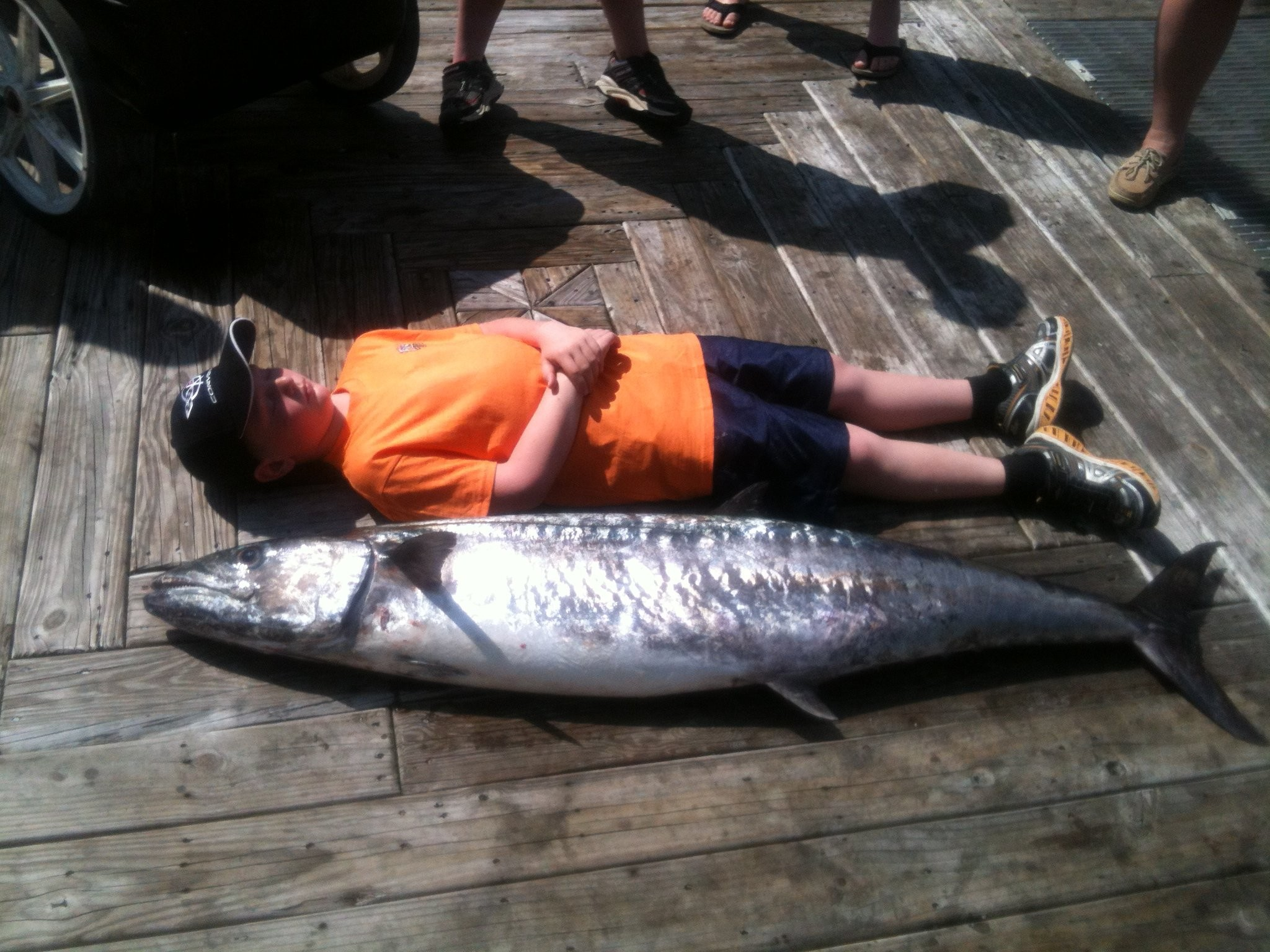 Scottville Boy Catches Record Alabama King Mackerel On First Deep Sea Trip Mlive Com