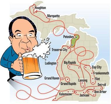 Michigan's Best Brewery: John Gonzalez is on a quest to find Michigan's Best Brewery.