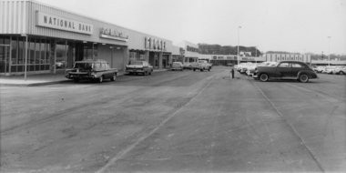 A view of Jackson's new Paka Plaza Shopping Center just prior to its Nov. 15, 1961, grand opening. The plaza opened with nine of its 26 store spaces available. (File photos | MLive.com)