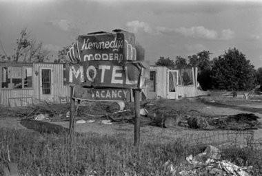 Damage in the Manitou Beach area was still very visible in July 1965 after the April 11, 1965 Palm Sunday tornado. The storm did extensive damage in the Manitou Beach, Coldwater Lake and Hillsdale areas. (File photo | MLive.com)