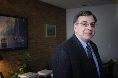 Dennis DeCosta, president of Commonwealth Associates Inc., in Blackman Township.