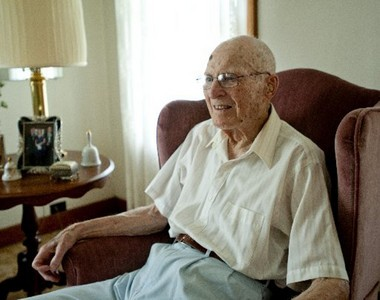 Spring Arbor resident Bruce Barrows will attend his 80th Concord High School reunion on June 8. (Shelby Mack | MLive.com)