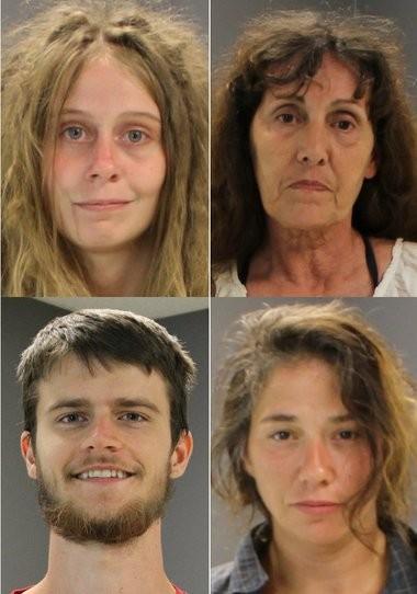Clockwise, from top left: Barbara Carter, Vickie Hamlin, Lisa Leggio, William Lawrence.