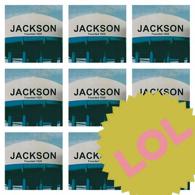 "The profile picture displayed on the Facebook page ""The Proposed Jackson Water Tower Is Super Lame."""