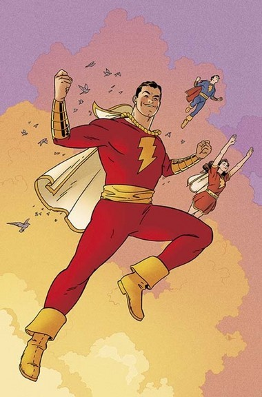 "Evan ""Doc"" Shaner's cover artwork for DC Comics' Convergence ""Shazam!"" No. 1, which is scheduled to appear in stores April 29."