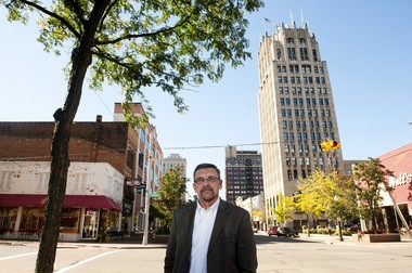Enterprise Group President Tim Rogers is responsible for selling Jackson County properties to industry on the move. (Sam Gause | MLive.com)