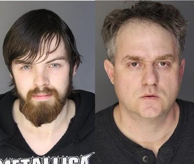 James Baker, left, and Brandon Vreeland