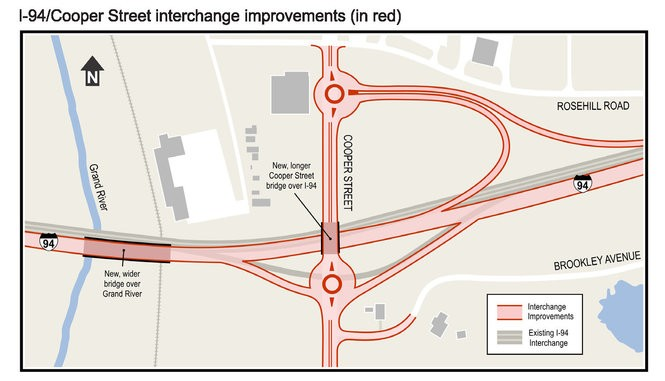 $100 million I-94 construction project should start this summer in