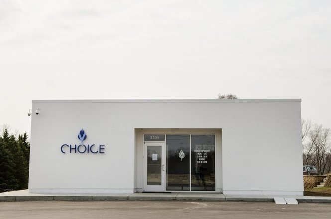 Choice Labs has an operating dispensary at 3331 Page Ave in Jackson, Michigan. (Claire Abendroth | Mlive.com)
