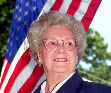 Marguerite J. Daly in a 1999 photo by Marcia Butterfield.