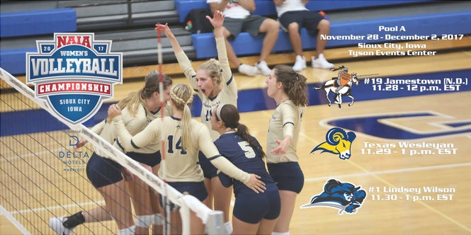 Cornerstone Volleyball to play in Pool A at NAIA National