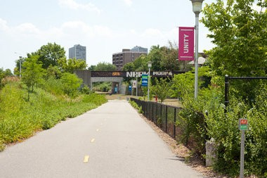 The Michigan Municipal League's 2013 convention focuses on Detroit, with one mobile workshop taking attendees on bikes through the Dequindre Cut to Eastern Market.