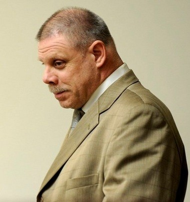 Joe Gentz is seen in 36th District Court in Detroit on Thursday Oct. 4, 2012. Gentz waived his preliminary examination on murder and conspiracy charges in the killing of Jane Bashara. (AP Photo/Detroit News, David Coates)