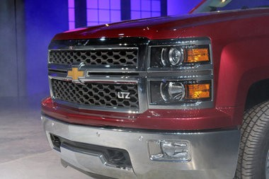 GM unveiling the 2014 Chevrolet Silverado.