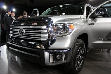2014 Toyota Tundra debuts at the 2013 Chicago Auto Show.