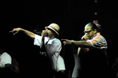 Bone Thugs-n-Harmony, a cleveland hip hop band that formed in 1991, performed at Oakaloosa Music Festival at Detroit's Historic Fort Wayne Saturday, July 27. (Tanya Moutzalias | MLive.com)