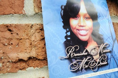 Family and friends attended the funeral for Renish McBridge Friday afternoon at House of Prayer & Praise in Detroit, Nov. 8. (Tanya Moutzalias | MLive.com)