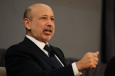 Goldman Sachs CEO Lloyd Blankfein speaks on a panel during the lunch-in at Eastern Market's Shed 3 after the announcement of a $20 million partnership with Warren Buffet and for the Goldman Sachs 10,000 Small Businesses initiative that will bring money into Detroit to support small businesses in the city with capital, business support and education, Nov. 26. (Tanya Moutzalias | MLive.com)