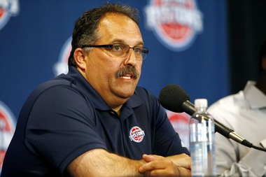 Detroit Pistons president-coach Stan Van Gundy has overhauled the roster in 17 months on the job.