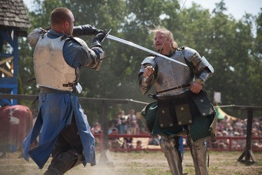 Some of the entertainment at the Michigan Renaissance Festival in Holly.(Photo: Griffin Moores | MLive.com)