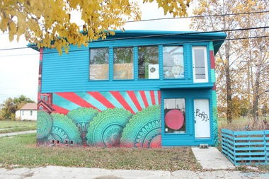 Planned Detroit Airbnb at 2126 Pierce.