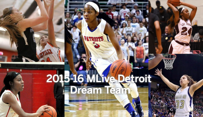 Introducing the 2015-16 MLive Detroit Dream Team for girls