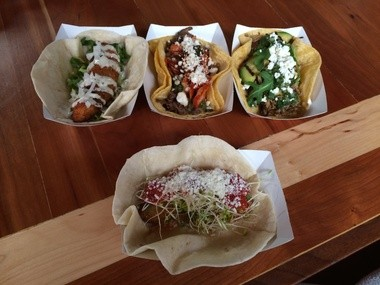 Happy's Tacos offers unique ingredients our of their food truck