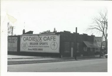 Courtesy of Cadieux Cafe