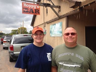 The Upper Peninsula's Hoppy's Bar in Kenton is Michigan's Best Neighborhood Bar.