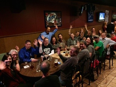 MLive's John Gonzalez visited Harry's Place in Lansing on Sept. 11, 2014 as part of the search for Michigan's Best Neighborhood Bar.