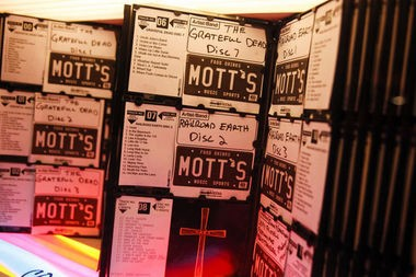 A jukebox at Mott's Place, 417 South Michigan in Saginaw, Wednesday, Sept. 17, 2014. Neil Barris | Mlive.com