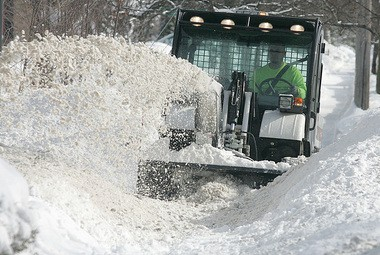 This new Bobcat should really help East Grand Rapids Public Works Department clear the sidewalks.