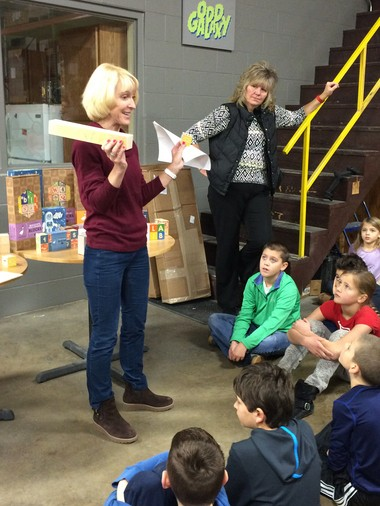 Fourth-graders' field trip serves as a building block in