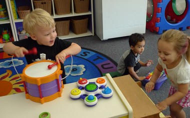 Berkley Building Blocks child-care program, which has the a four-star rating from the state. (Bridge photo by Nancy Derringer)