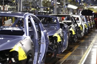 """The """"Make it in America"""" plan aims to boost U.S. manufacturing."""