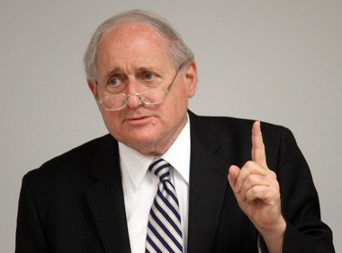 Carl Levin announced his retirement around 5 p.m. on Thursday, March 7, 2013.