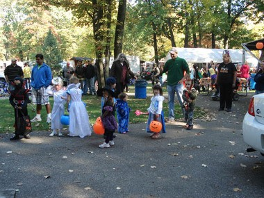 The campground at Bay City Recreation Area is typically filled to capacity three straight weekends in the fall, thanks to its harvest festival.