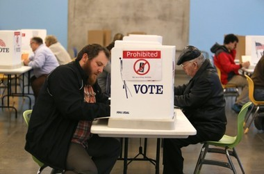 Michigan's voting machines are outdated, and it's too late to replace them before November's presidential election. (photo courtesy of MLive)
