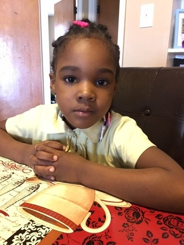 DeAsia Matthews, 5, is among thousands of Detroit children learning to live with asthma. (Courtesy photo)