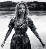"""Actress Candace Hilligoss is pictured in this scene from the 1962 movie """"Carnival of Souls."""""""