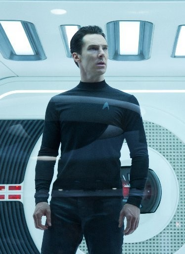 """Benedict Cumberbatch as John Harrison in a scene in the movie, """"Star Trek Into Darkness, """" from Paramount Pictures and Skydance Productions. (AP Photo/Paramount Pictures, Zade Rosenthal"""