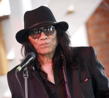"""Searching for Sugar Man"" star Rodriguez appears to be staying put in Detroit - even if he wins an Oscar next month."