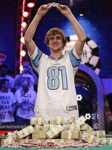 Clarkston native Ryan Reiss won Tuesday the World Series of Poker. He's the second Metro Detroit native to win the title in five years.