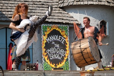Entertainment at a past Michigan Renaissance Festival in Holly. (Photo: Griffin Moores | MLive.com)