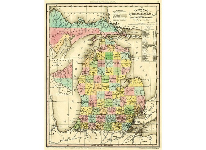 How each county in Michigan got its name - mlive com