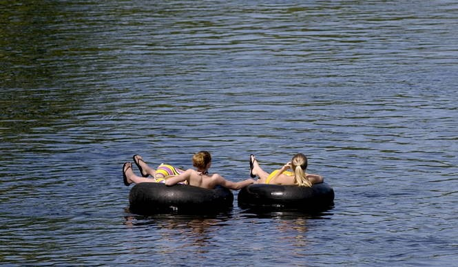 It's hot for (perhaps) one last weekend  Go tubing  - mlive com