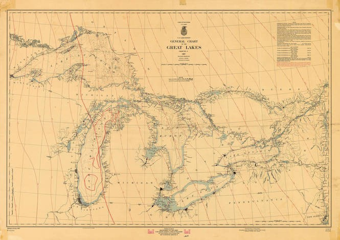 Celebrate Michigans Birthday With These Cool Old Maps Of Our State - Old-map-of-us