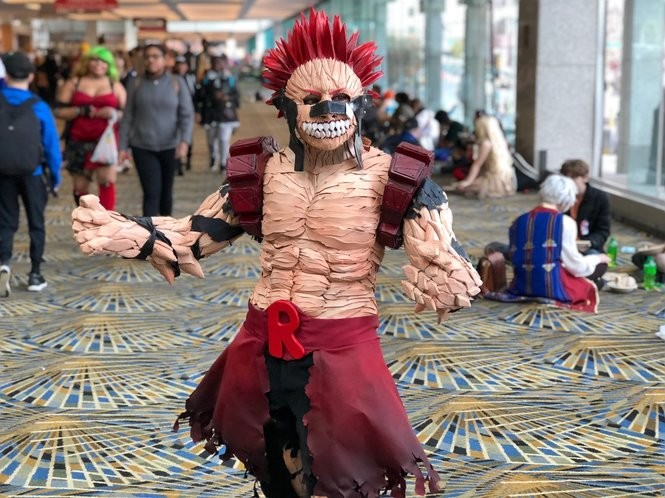 The outright best cosplay we saw at Youmacon, Michigan's Japanese