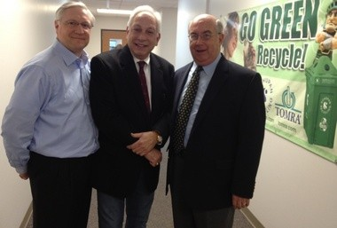 Tom Emmerich, WJR's Paul W. Smith, Kirk Heinze