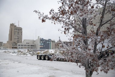 View of downtown Flint from the corner of Second and Stevens Streets on Monday, December 23, 2013. Michelle Tessier | MLive.com